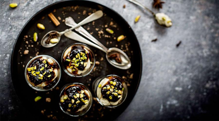 bicchierini crumble pistacchio