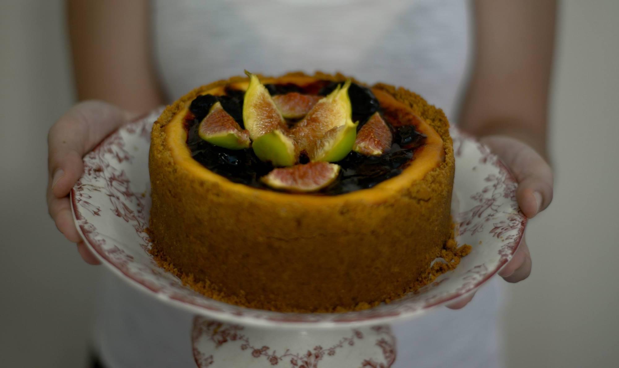 cheesecake cremadelizia fichi caramellati Babbi
