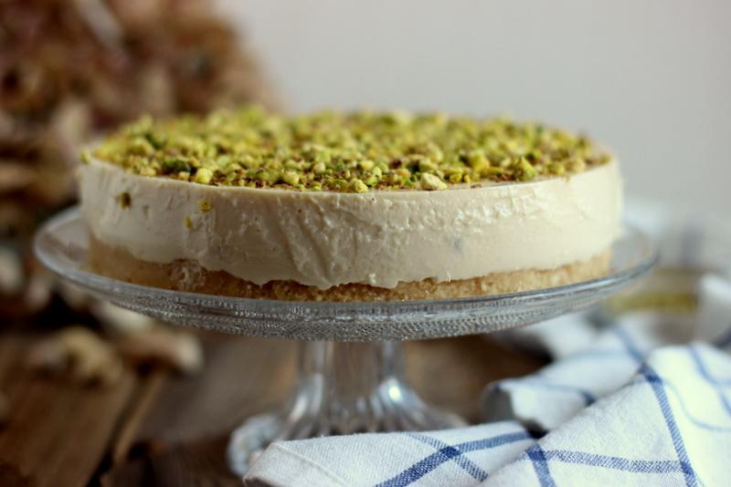 cheesecake raw cremadelizia pistacchio Babbi