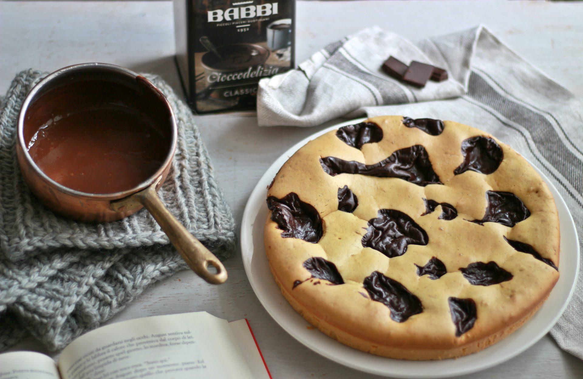 torta nua cannella e cioccodelizia