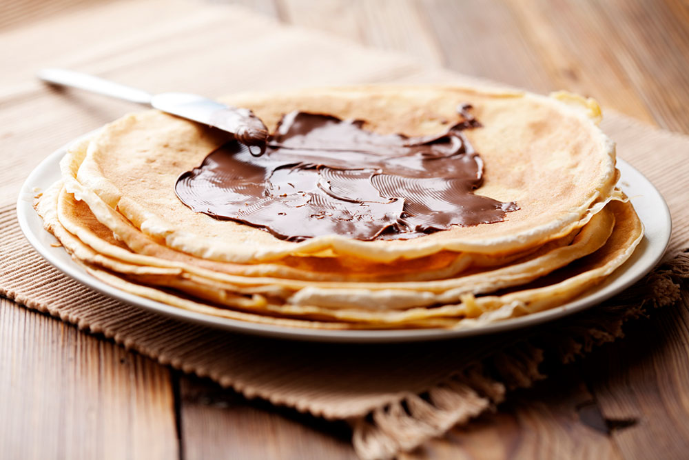 crepes alle creme