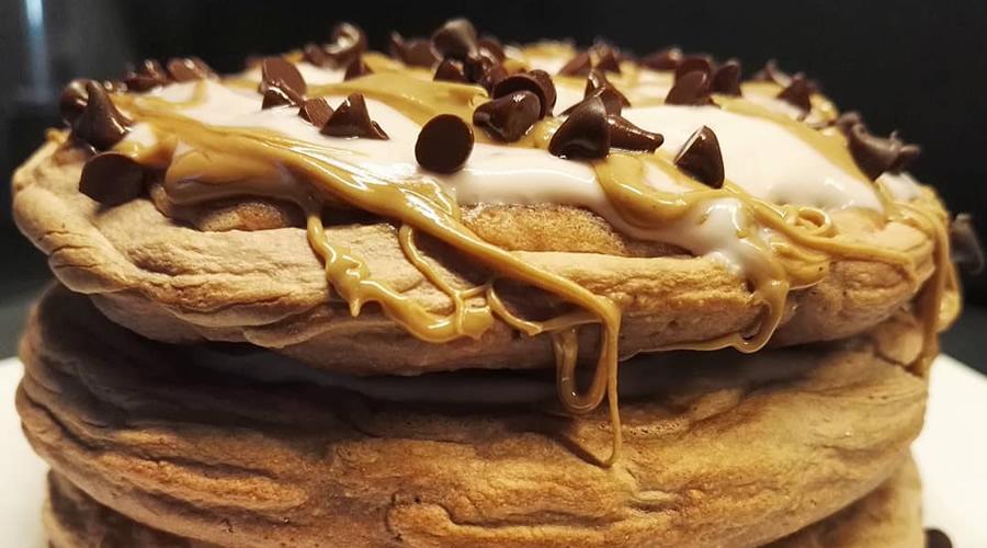 Pancakes con Crema al Pistacchio