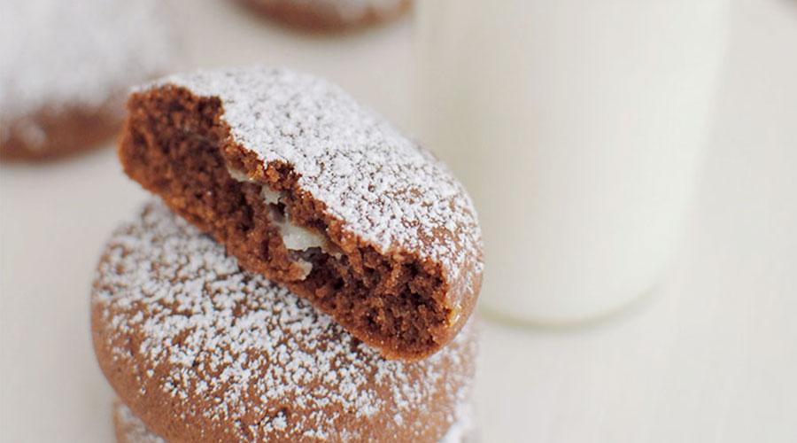 biscotti cacao e cioccodelizia bianca