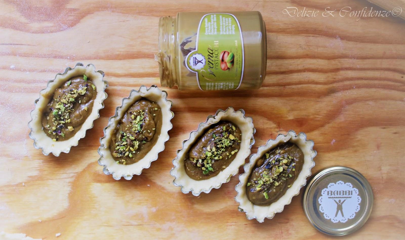 pasticciotto pistacchio