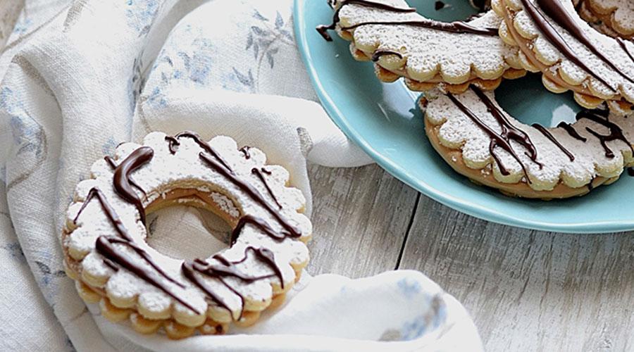 biscotti frolla crema nocciola
